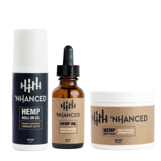 'NHANCED HEMP Topicals Pack