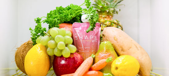 shape fridge