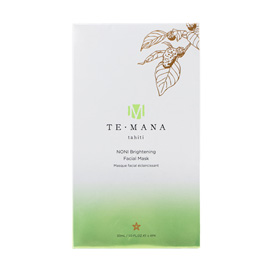 TeMana Brightening Facial Mask 4 Pack