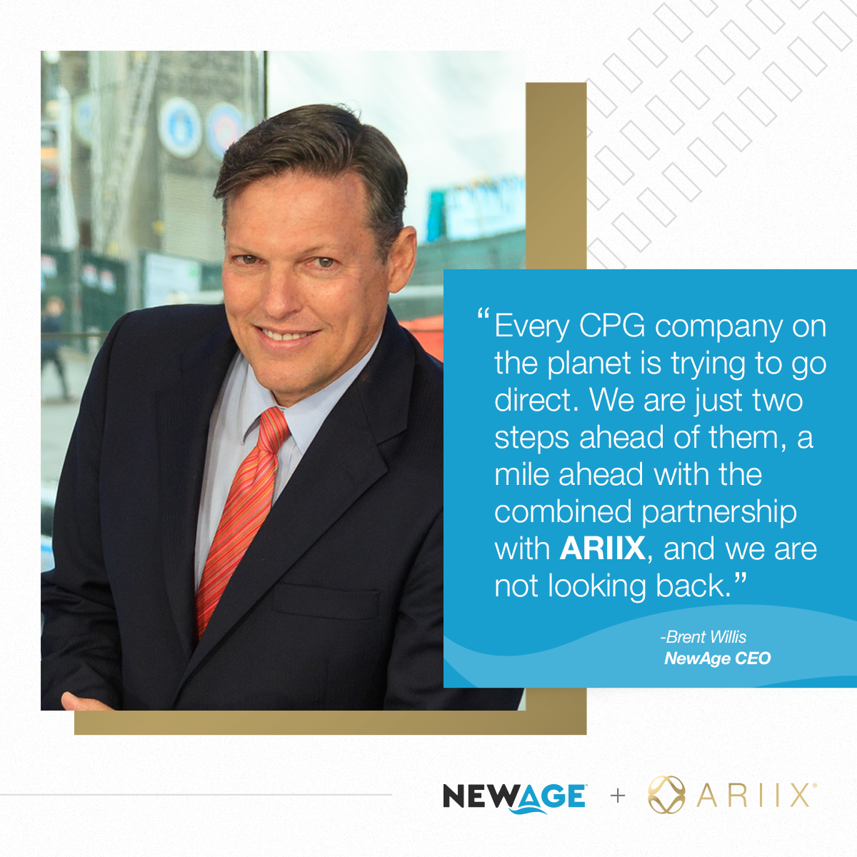 NEWAGE AGREES TO COMBINE WITH ARIIX AND FOUR ADDITIONAL E-COMMERCE/DIRECT SELLING COMPANIES TO CREATE A >$500 MILLION GLOBAL ENTERPRISE article image