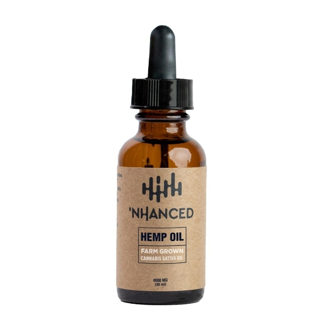 'NHANCED Hemp Oil