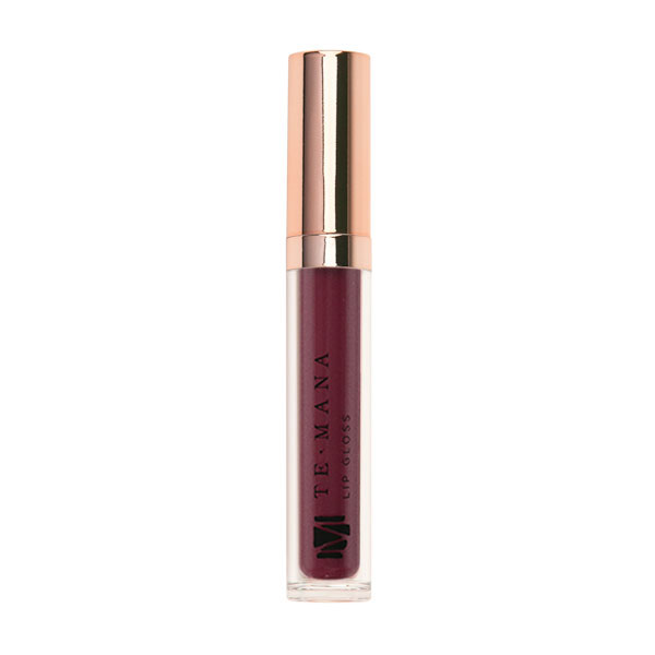 TeMana Lip Gloss (Pacific Plum)