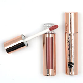 Lápiz Labial Líquido TeMana (Sunset Rose)