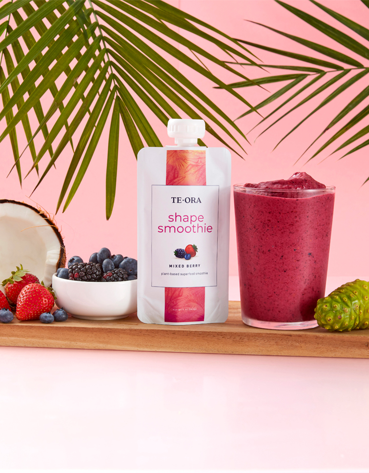 "<span style=""color:#dc4487"";>TeOra <br />Shape Smoothie</span> Image"