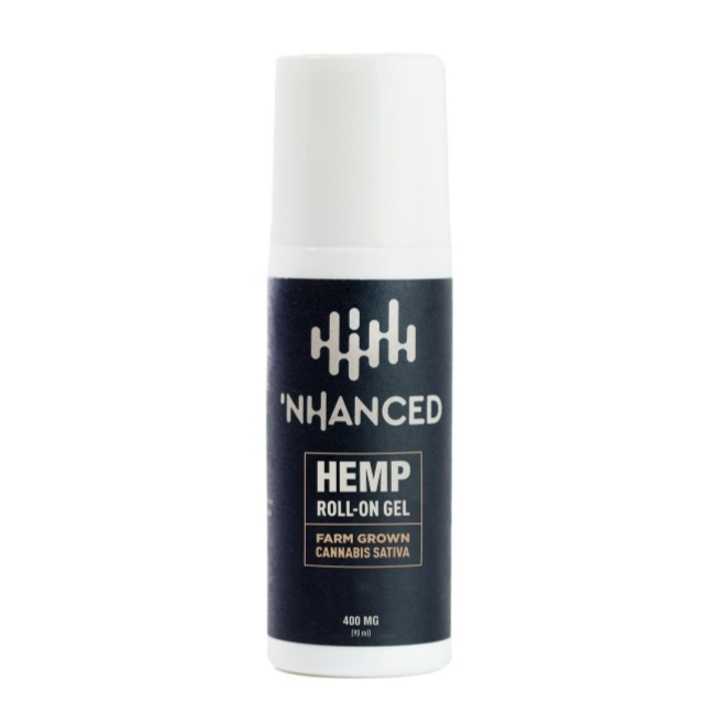 'NHANCED Hemp Roll‑On Gel